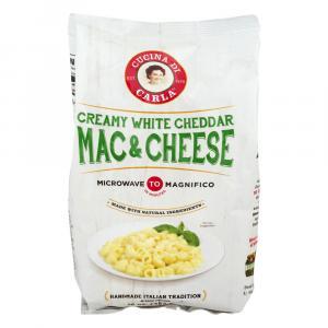 Cucina Di Carla Creamy White Cheddar Mac And Cheese