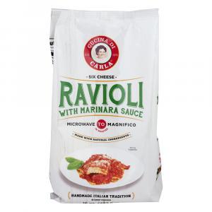 Cucina Di Carla Six Cheese Ravioli With Marinara Sauce