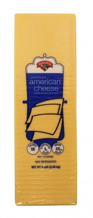 Hannaford Yellow American Cheese