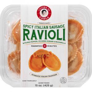 Cucina Di Carla Spicy Italian Sausage Ravioli