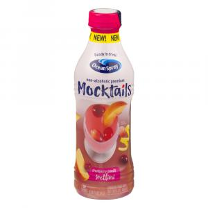 Ocean Spray Mocktails Cranberry Peach Bellini