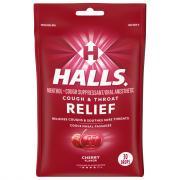 Halls Cherry Cough Drops