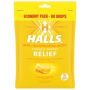 Halls Eco-Bag Honey Lemon Cough Drops