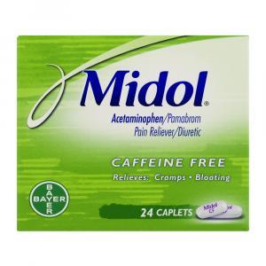 Midol Caffeine Free Capsules