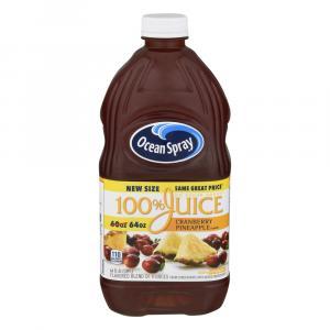 Ocean Spray 100% Cranberry Pineapple Juice