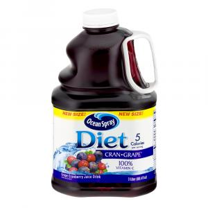 Ocean Spray Diet Cranberry Grape Juice