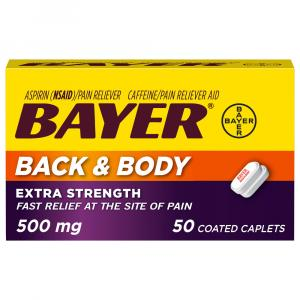 Bayer Back & Body Pain Aspirin Caplets