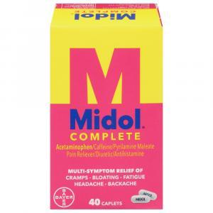 Midol Women's Complete Menstrual Formula Caplets