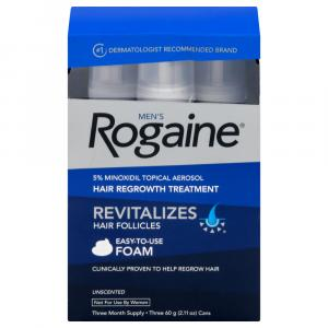 Rogaine Revitalizing Hair Growth Foam for Men