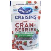 Ocean Spray Craisins 50% Less Sugar
