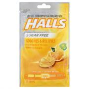 Halls Sugar Free Citrus Blend Cough Drops