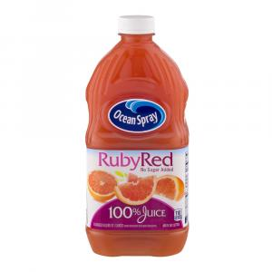 Ocean Spray 100% Ruby Red Grapefruit