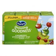 Ocean Spray Growing Goodness Cranberry Strawberry Kiwi Juice
