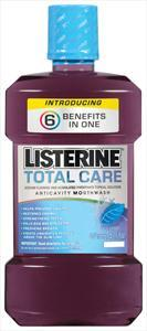 Listerine Total Care Anticavity Icy Mint With Mouthwash