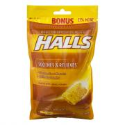 Halls Honey Cough Drops