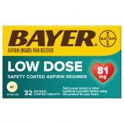 Bayer Aspirin Regimen 81 mg