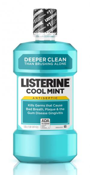 Listerine Cool Mint Mouthwash Bonus