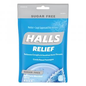 Halls Sugar Free Mentho-Lyptus Cough Drops