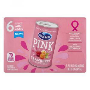 Ocean Spray Pink Cranberry