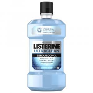 Listerine Ultra Clean Zero Alcohol Arctic Mint Mouthwash