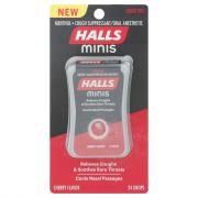 Halls Minis Sugar Free Cherry Cough Drops