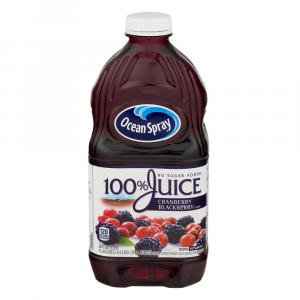 Ocean Spray 100% Cranberry Blackberry Juice