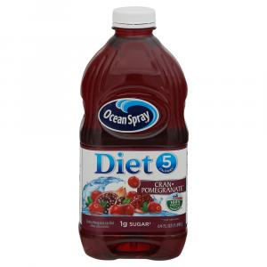 Ocean Spray Diet Cranberry Pomegranate Juice