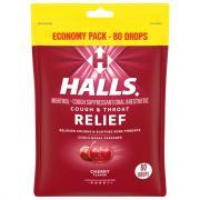 Halls Eco-Bag Cherry Cough Drops