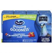 Ocean Spray Growing Goodness Cranberry Blue Raspberry Juice