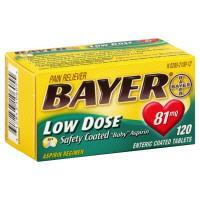 Bayer 81 Mg Aspirin Tablets