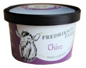 Frederickson Farm Chevre Chive Goat Cheese