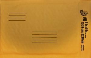 """Bubble Envelope 6"""" x 9"""""""