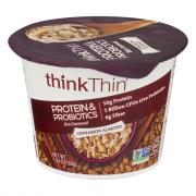Think Thin Protein & Probiotics Cinnamon Almond Oatmeal