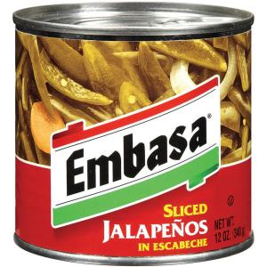 Embasa Sliced Jalapenos In Escabeche