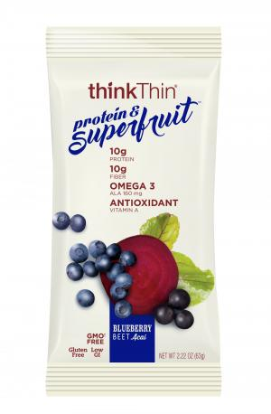 Think Thin Protein & Superfruit Blueberry Beet Bar