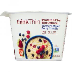 Think Thin Farmer's Market Berry Crumble Hot Oatmeal