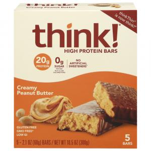 Think High Protein Bars Creamy Peanut Butter
