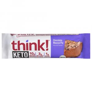 Think Protein Bar Chocolate Mousse Pie