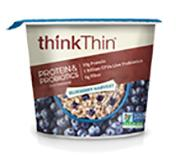 Think Thin Protein & Probiotics Blueberry Oatmeal