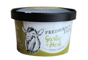 Frederickson Farm Chevre Garlic + Herb Goat Cheese