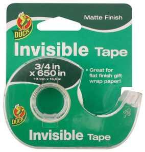 Duck Invisible Tape