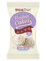 Think Thin Protein Cakes Birthday Cake