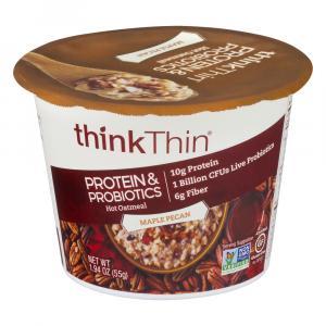Think Thin Protein & Probiotics Maple Pecan Oatmeal