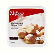 Delizza Frozen Mini Cream Puffs