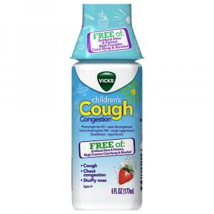 Vicks Children's Congestion Berry Cough Syrup