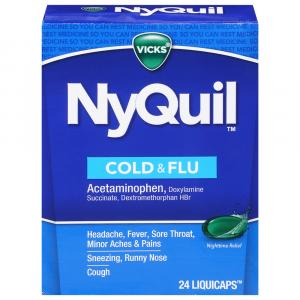 Vicks NyQuil LiquiCaps