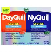 Vicks Dayquil/Nyquil Severe Liquicaps