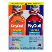 Vicks Nyquil/DayQuil Severe Cold & Flu Berry