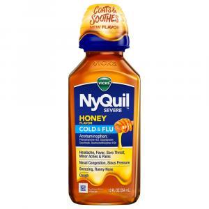Vicks NyQuil Severe Honey Liquid