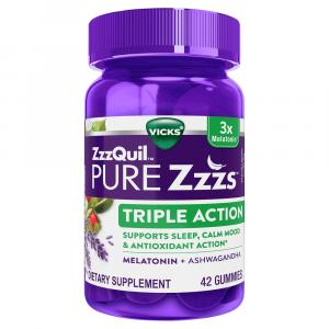 Pure ZzzQuil Triple Action Gummies